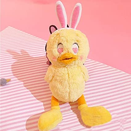 CUTE Japanese Chicken Anime Cosplay Stuffed Pillow Plush Doll Soft Kids Toy Gift