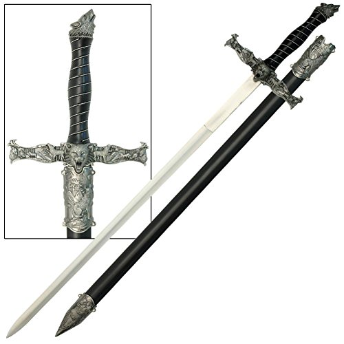- Spirit of the Alpha Wolf Medieval Sword
