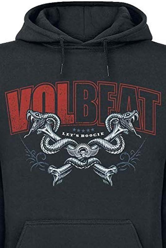 Volbeat Voodoo Boogie sweter z kapturem czarny - small: Odzież