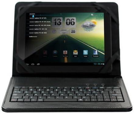 Woxter CKTB 80 - Funda con teclado USB para tablet de 8 pulgadas, color gris