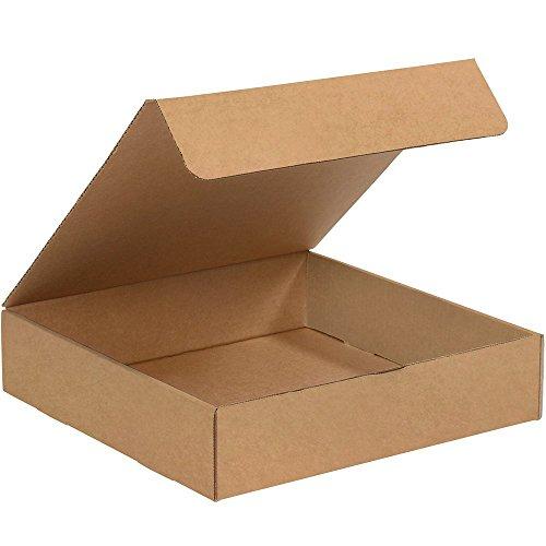 "Hot Aviditi ML12122K Literature Mailers, 12"" x 12"" x 2"", Kraft (Pack of 50) for cheap"