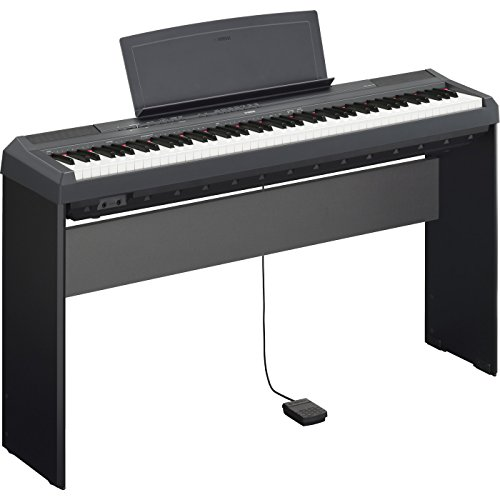Yamaha P115B Bundle | 88 Key Digital Piano Black L85 Keyboar