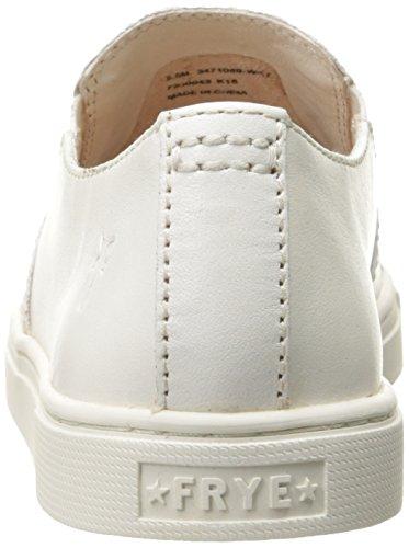 Frye Femmes Gemma Slip Sneaker De Mode En Cuir Blanc-71089