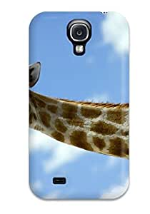 New JessicaBMcrae Super Strong Baby Giraffe Tpu Case Cover For Galaxy S4