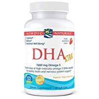 Nordic Naturals - DHA Xtra, Healthy Brain and Nervous System Support, 60 Soft Gels