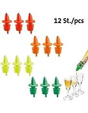 Westmark Jet-Pour Spiraaltuit voor flessen, met luchtbuisjes, kunststof kurk