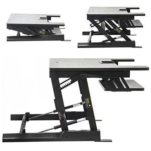 Height Adjustable Standing Desk All Rise Varidesk Pro