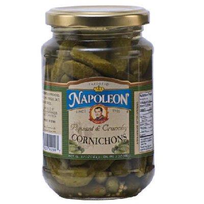 Napoleon Cornichons, 12 oz