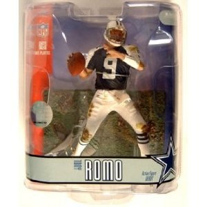 (Tony Romo Blue Jersey Variant Chase Dallas Cowboys #9 McFarlane NFL Series 15 Action Figure)