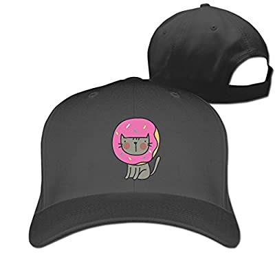 Cute Dount Cat Designer Trucker Cap Peaked Hat Unisex Baseball Hats