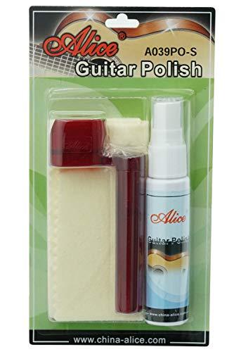 Lampoo Guitar Care Guitar Polish Cloth Kit String Turner Guitar Cleaner kit
