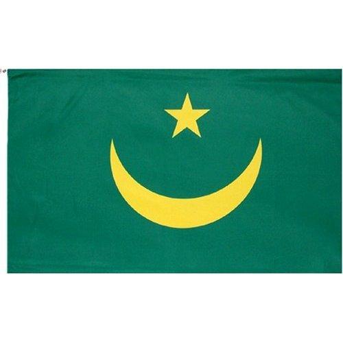 Mauritania Flag Polyester 3 ft. x 5 ft.