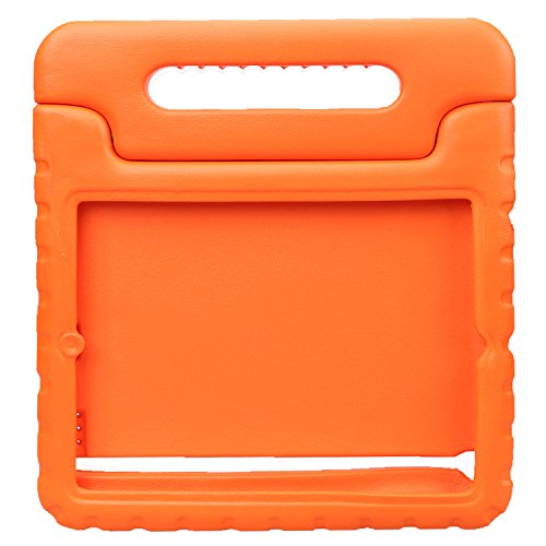 NEWSTYLE Apple iPad 2 3 4 Shockproof Case Light Weight Kids Case Super Protection Cover Handle Stand Case For Kids Children For Apple iPad 4, iPad 3 & iPad 2 2nd 3rd 4th Generation (Orange) (4 Color Cover Case)