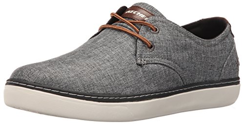 Skechers Men's Palen Gadon Oxford,Gray,10.5 M US