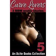 Curve Lovers - three BBW erotic romances from Xcite Books