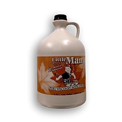 100% Pure Wisconsin Maple Syrup Grade B/Dark Robust Taste Gallon : Grocery & Gourmet Food
