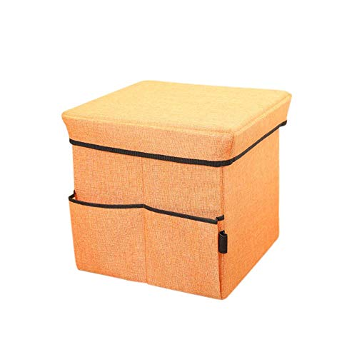 Kids Collapsible Ottoman Toy Books Box Storage Seat Chest: Amazon.com: Storage Ottomans,Folding Toy Box Chest With