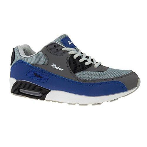 A Basso Blue Collo Donna Grey Footwear London amp; 1wRqvv