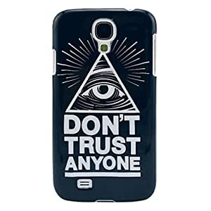 Cool One Eye Protective Hard Skin Case for Samsung Galaxy S4 I9500