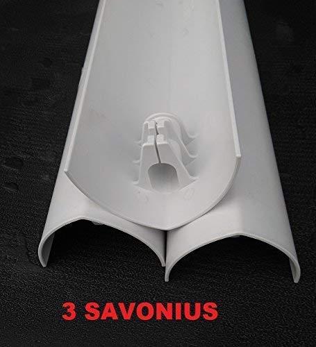 4cc84f58d39 N ° 3 Palas de turbina eólica de repuesto DARRIEUS SAVONIUS y o expansión  para turbina eólica de eje vertical DOMUS 500   750   1000 W  Amazon.es   Jardín
