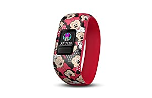 Garmin 010-01909-20 Vivofit jr. 2 - Stretchy Minnie Mouse - Activity Tracker for Kids