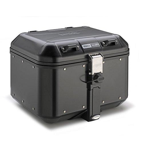 - GIVI DLM46B 46 Liter Dolomiti Monokey Aluminum Top Case - Black