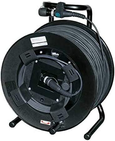 Neutrik opticalCON Duo Câble multimode monté sur tambour 200 Metres