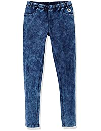 Girls' Cotton Stretch Washed Knit Pull-On Jegging