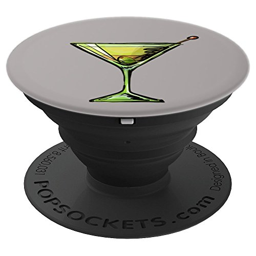 Martini Drinker - PopSockets Grip and Stand for Phones and (Martini Handle)