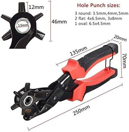 BXU-BG Leather Craft Tool Belt Eyelet Hole Puncher Punching Plier Pincers Tool