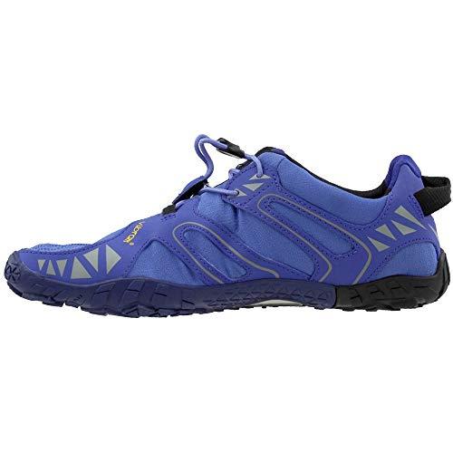 Vibram Women's V Trail Runner Purple/Black 37 EU/6.5 M US by Vibram (Image #3)