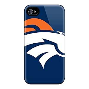 Scratch Protection Hard Phone Covers For Iphone 6 (MBW4089jwtJ) Provide Private Custom Colorful Denver Broncos Skin