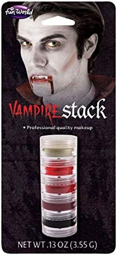 Monster Makeup Stacks Injury Vampire Zombie Halloween Horror Three -
