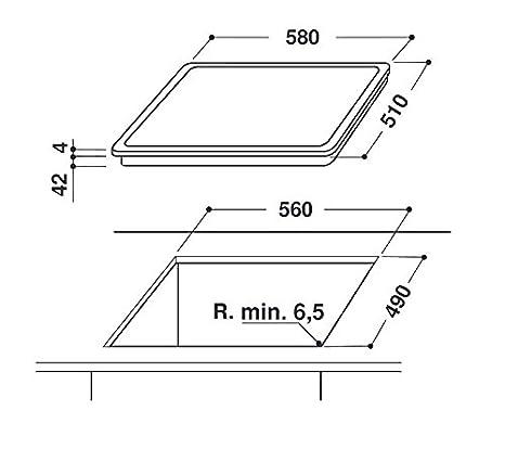 Indesit de cocción de inducción Rojo Portátil 160 °C en ...