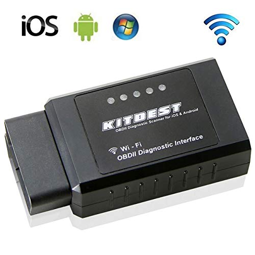 Kitbest OBD2 Scanner, WiFi OBDII Scan Tool for iOS...