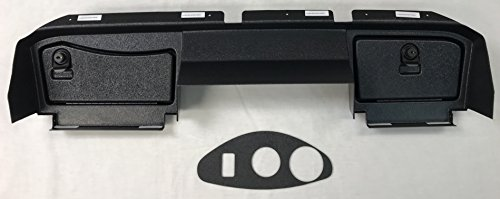 GMT Inc E-Z-Go RXV Full Golf Cart Dash in Black to Fit 1st Generation RXV Cart (Will Not FIT 2nd Generation RXV Cart) (Will Not Fit Any TXT Models) Includes 3 Hole Gauge Trim Plate