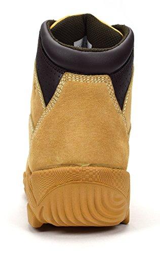 Condor Idaho Menns 6 Stål Tå Arbeid Boot Honning