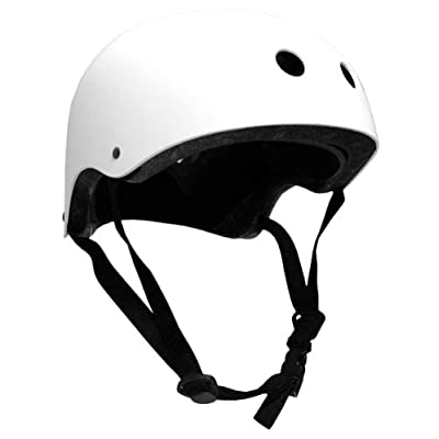 Krown Helmet, White : Skate And Skateboarding Helmets : Sports & Outdoors