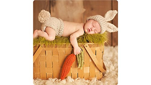 Bunny Outfits - Newborn Baby Girl/Boy Crochet Knit Costume