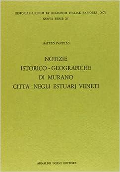 Notizie istorico-geografiche di Murano