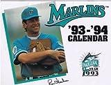 Florida Marlins '93-'94 Calendar SGA RENE LACHEMAN