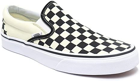 SHOES シューズ スニーカー CLASSIC SLIP ON CHECKERBOARD 黒/白 BLACK/WHITE(US規格) スケートボード スケボー SKATEBOARD