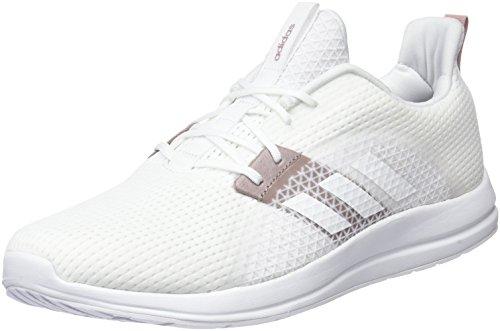 adidas Element V, Chaussures de Running Femme Blanc Cassé (Ftwr White/white Tint S18)