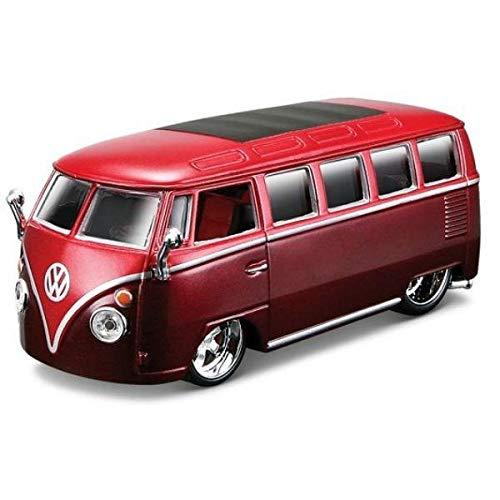Collezione Bburago Volkswagwn Van Samba Custom 1:32 Modellino Die-Cast Escl