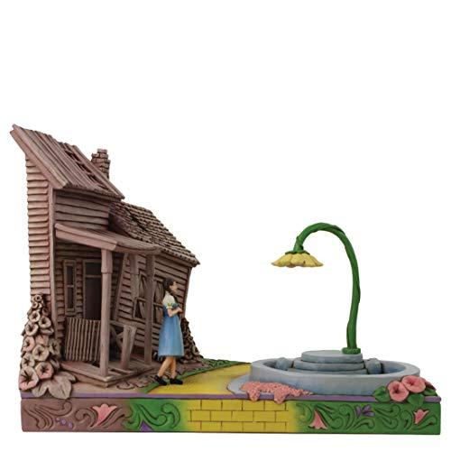 Enesco Wizard of Oz by Jim Shore Dorothy Stepping Kansas to Oz Figurine