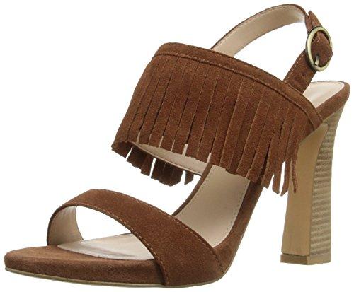 SD Women's Cognac Moda Dress Nora Pelle Sandal 5qvtw