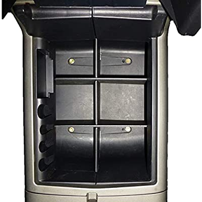 Vehicle OCD - Center Console Organizer for Ford F150 (2004-2008) (Floor Shift w/Bucket Seat Only) - Made in USA: Automotive