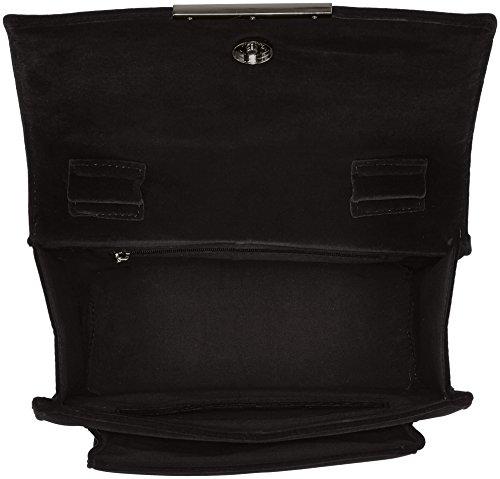New Buffalo 16bwg Mujer 38 Velvet Bolsos Bandolera 01 black Bag Negro qqOwtHZnS