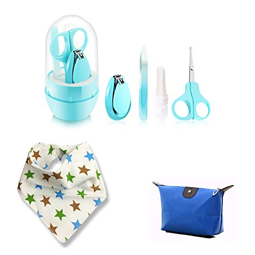 Hicat Baby Grooming Kit,Travel Bathing Kit (Blue) from HiCat