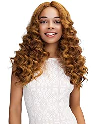 JANET COLLECTION EXTENDED PART DEEP SWISS LACE FRONT.